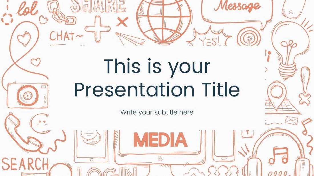 Ethan - Templat PowerPoint Seni Gratis