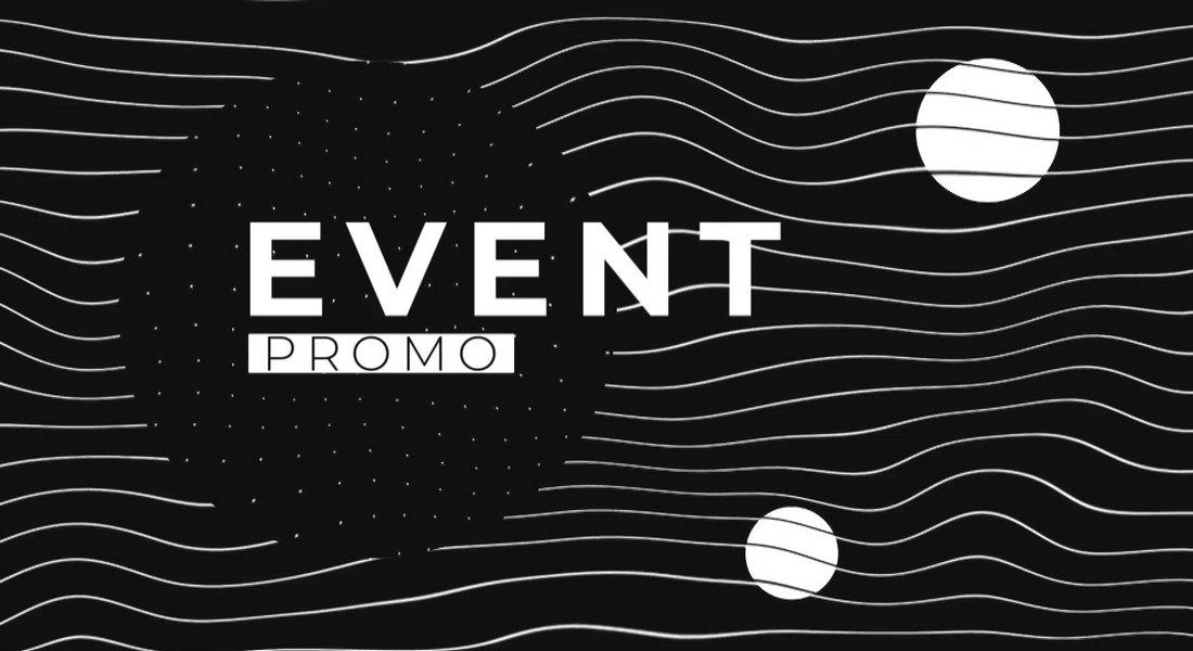 Event Promo Black and White Premiere Pro Template
