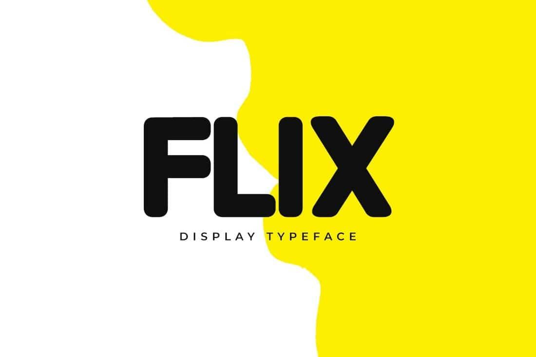 FLIX - Creative Poster Font