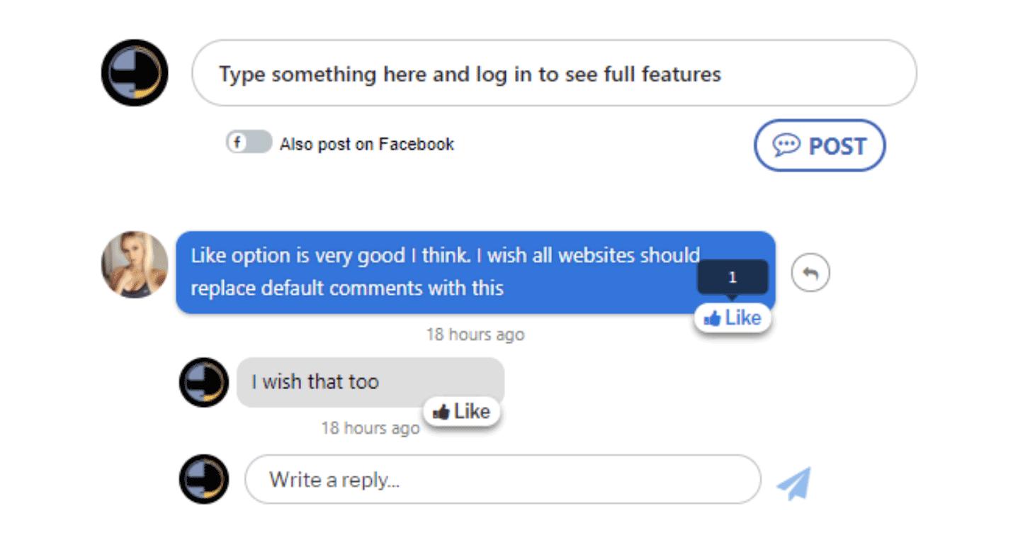 Facebook Messenger Comments For WordPress Plugin