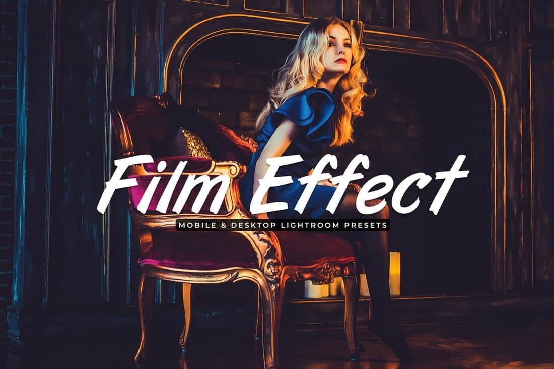 Film Effect - Mobile & Desktop Lightroom Presets