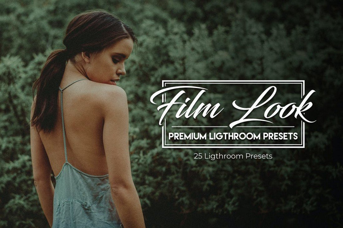 Film Look - 25 Premium Lightroom Presets