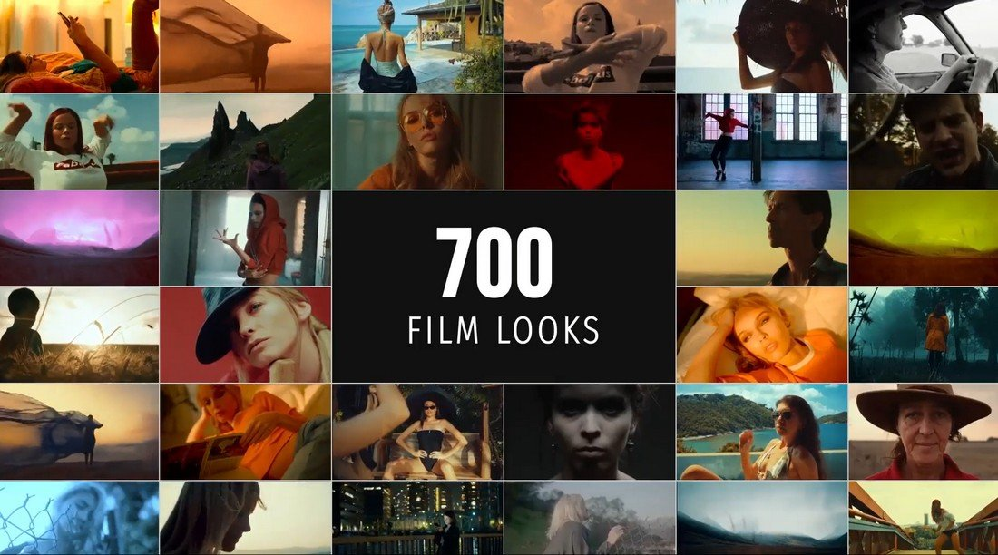 Tampilan Film - Paket LUTs untuk Premiere Pro
