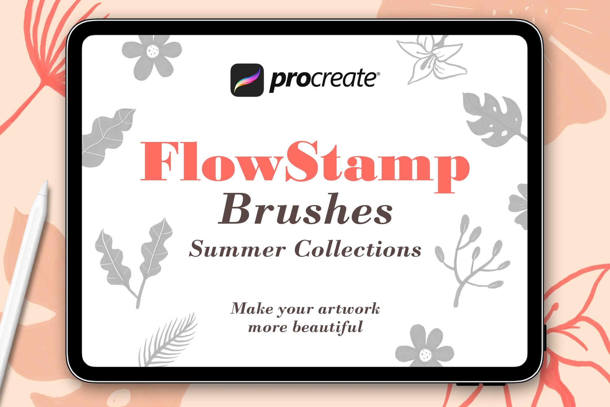 FlowStamp - Procreate Brush