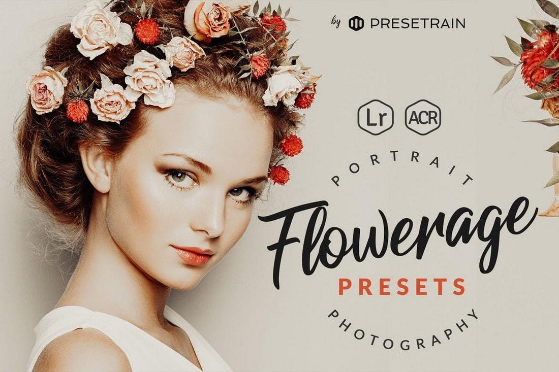 Flowerage Portrait Presets for Lightroom