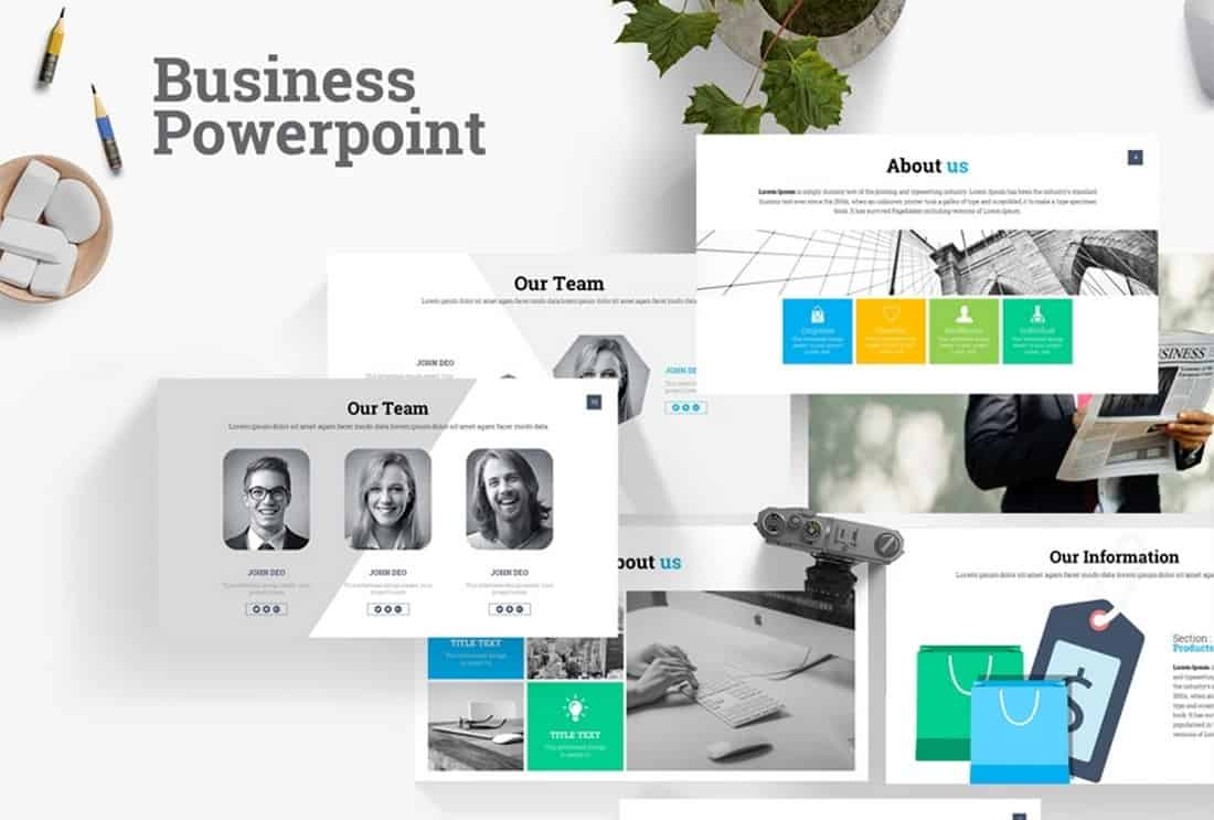 Free Business Powerpoint Presentation