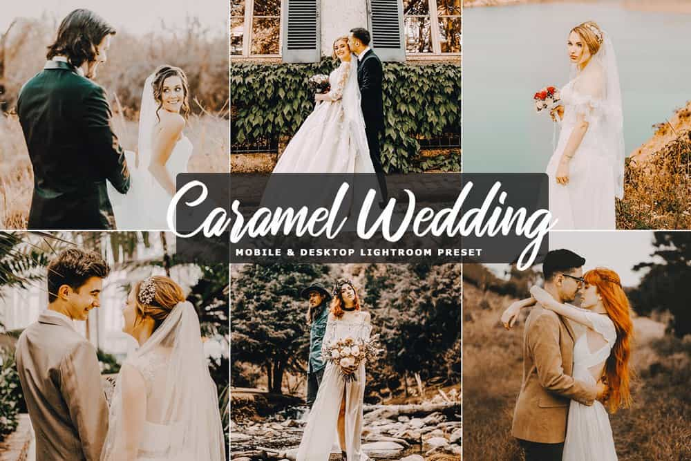 Free Caramel Wedding Lightroom Preset