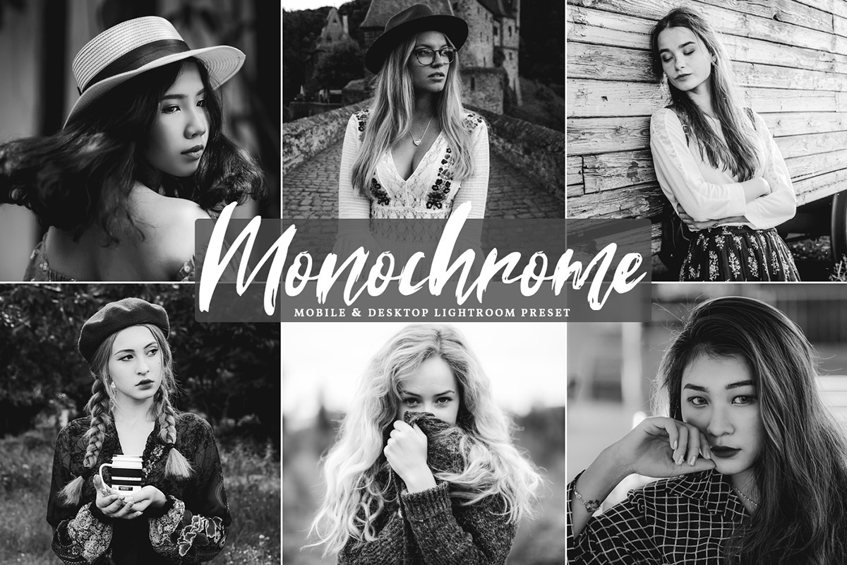 Free Monochrome Mobile & Desktop Lightroom Preset