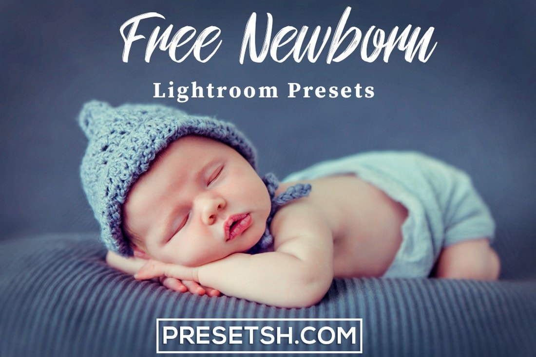 Free Newborn Baby Lightroom Presets