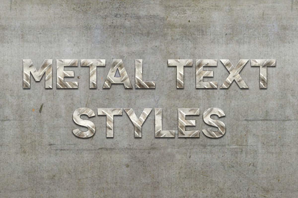 Efek Metalik Photoshop Gratis