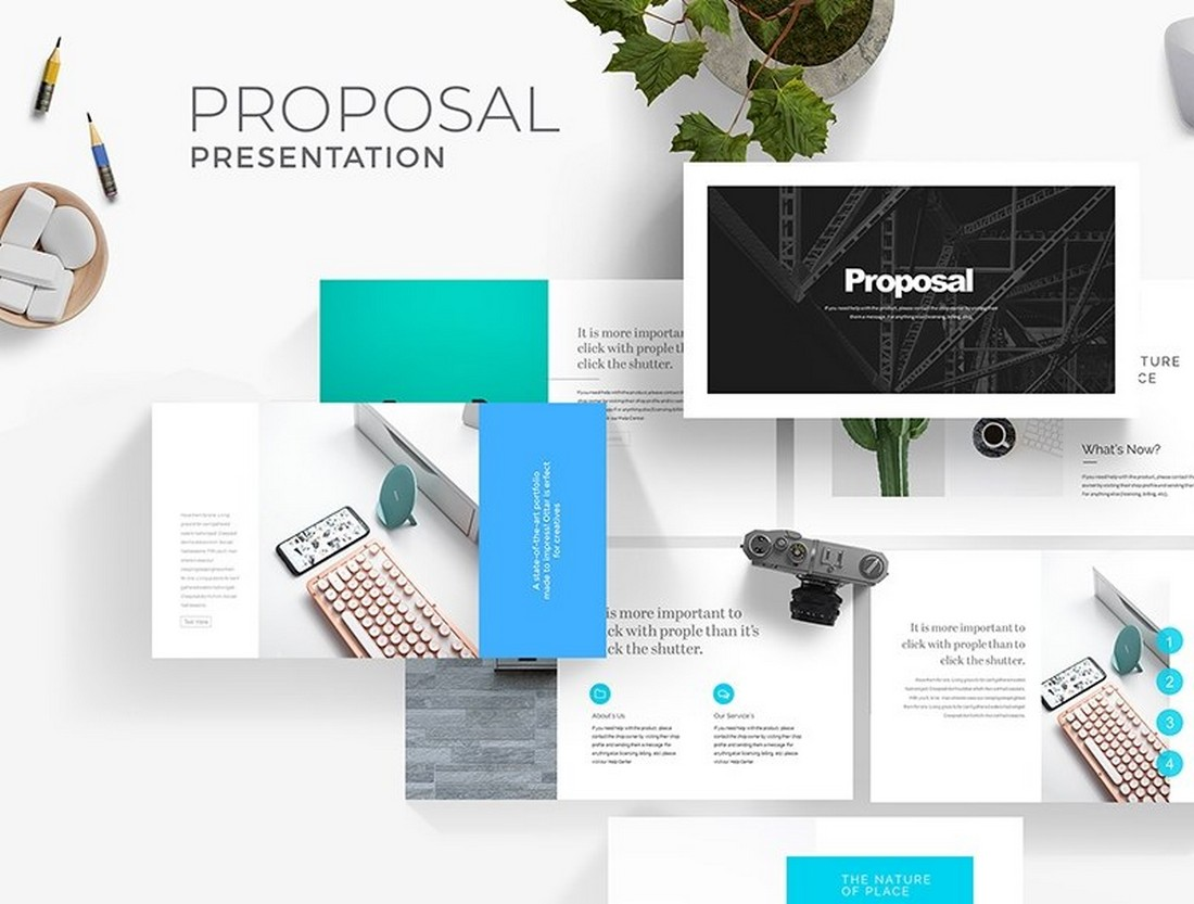 Free Pitch Deck Proposal Presentation Template