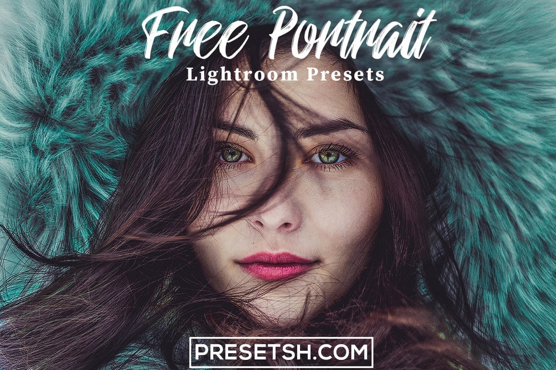 Free Portrait Photography Lightroom Preset