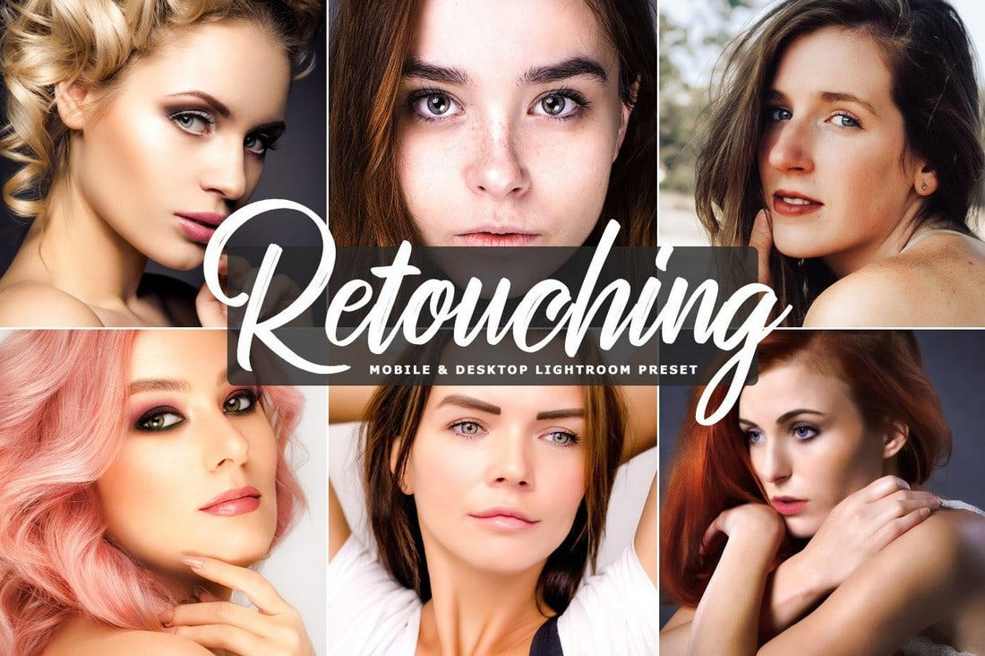 Free Portrait Retouching Lightroom Preset