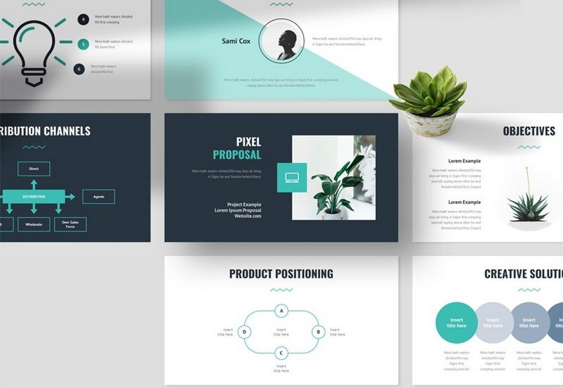 Free Project Proposal Pitch Deck PowerPoint Template