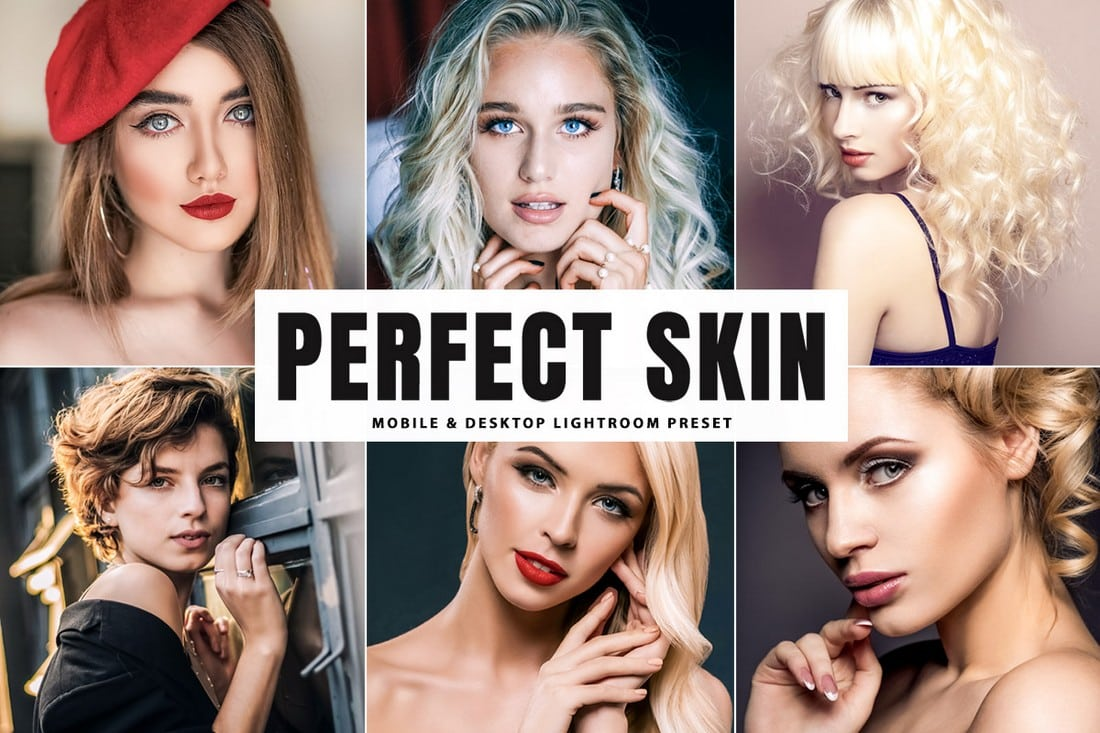 Free Skin Retouching Lightroom Presets