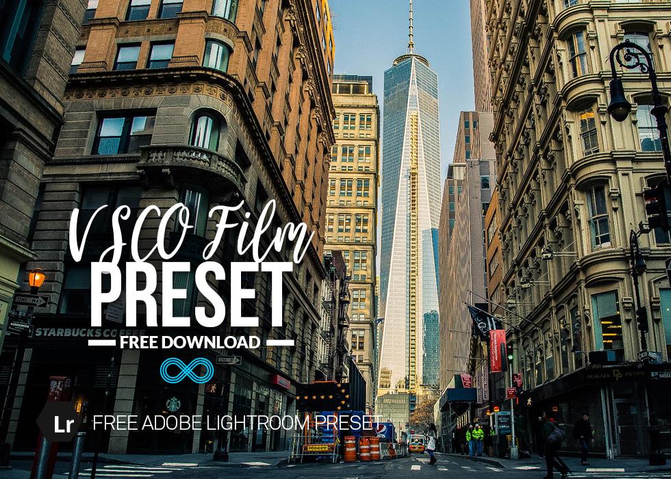 Free VSCO Lightroom Preset