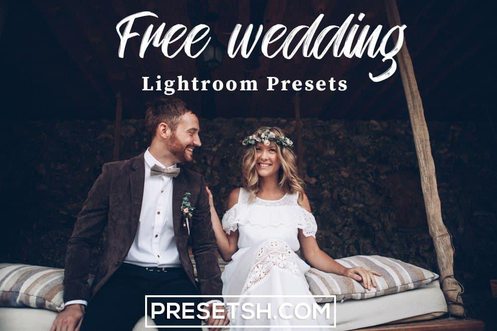 Free Wedding Lightroom Preset