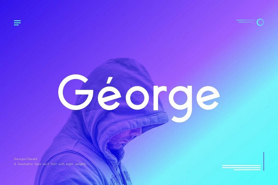George - Font Geometris Sans