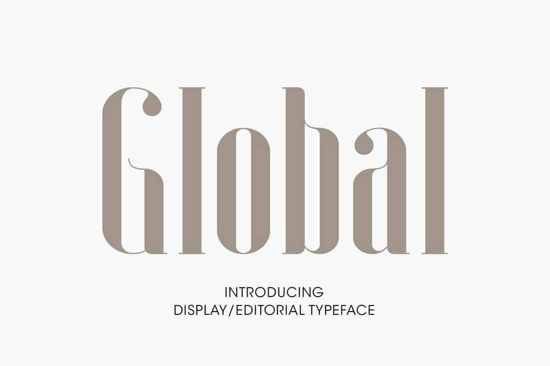 Global - Elegant Serif Font