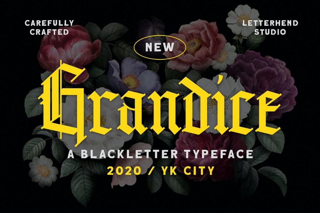 Grandice - Font Logam Berat