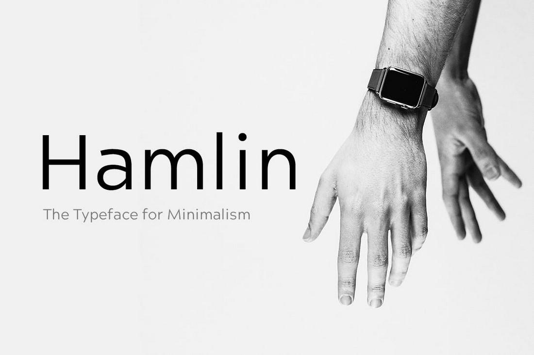 HAMLIN - Font Geometris Minimal