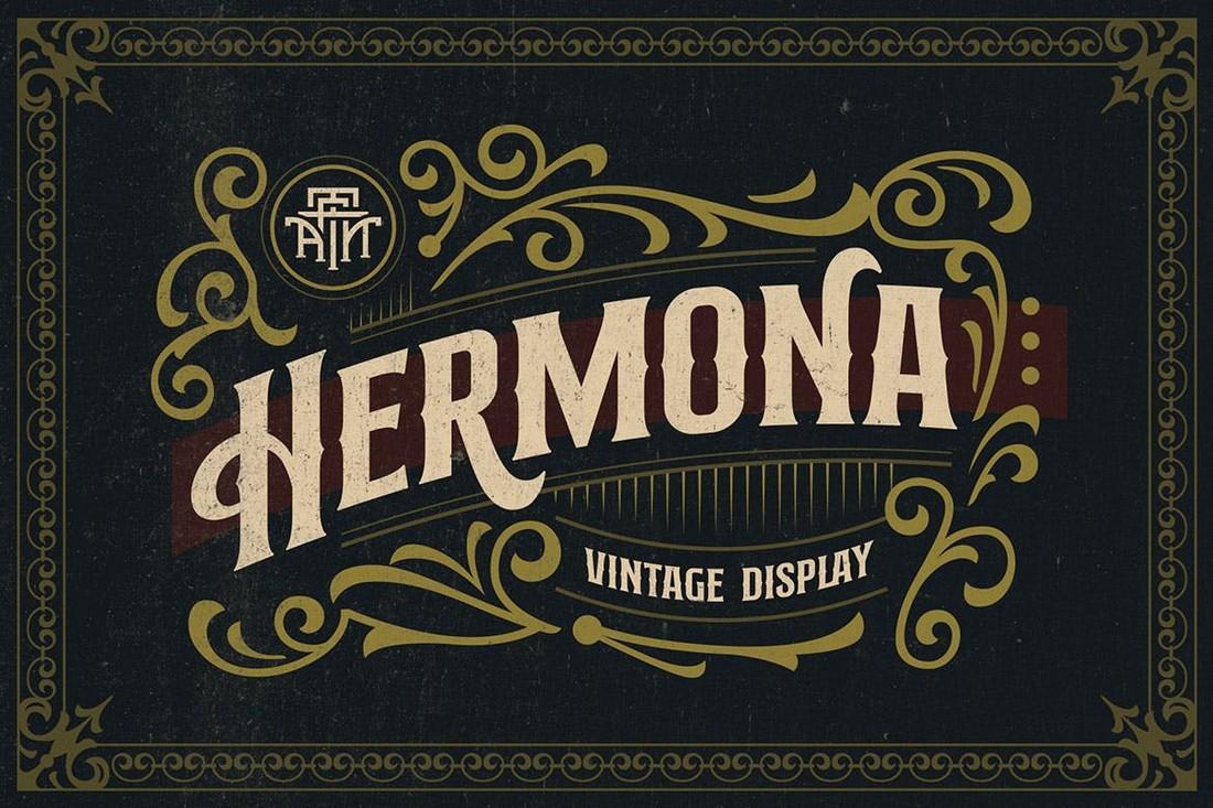 Hermona - Font Art Nouveau Vintage