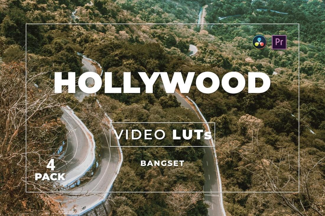 Video Hollywood LUT untuk Premiere Pro