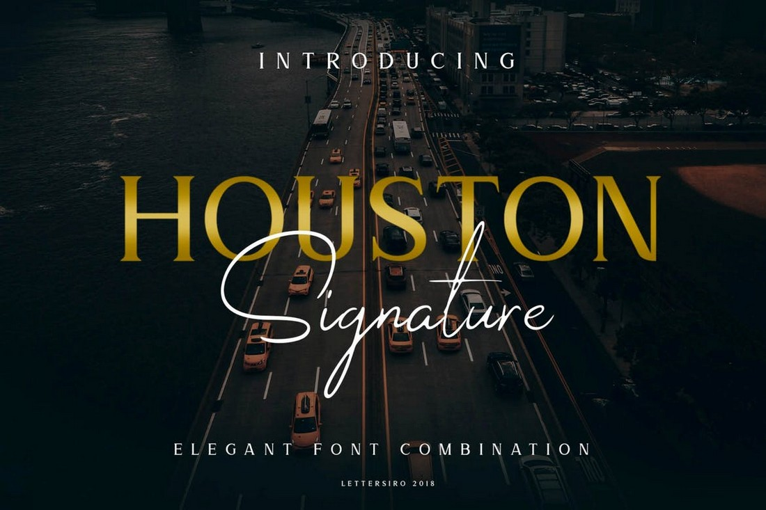 Houston Business Font Duo