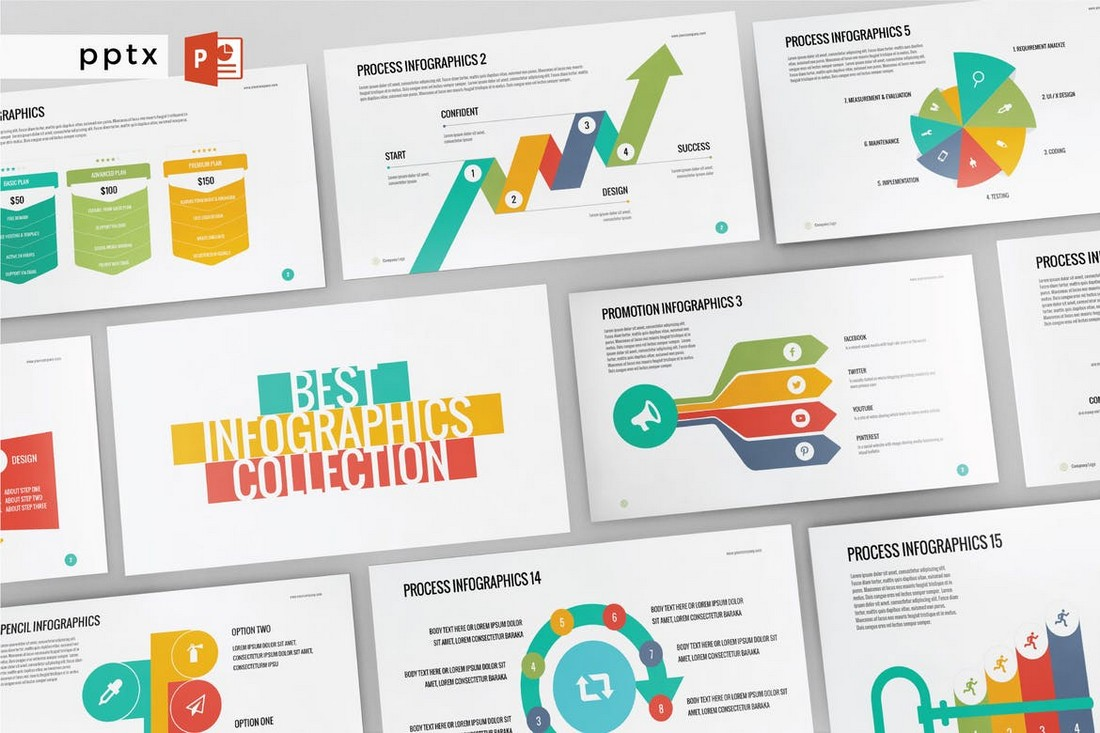 INFOGRAPHIC - Multipurpose Powerpoint template