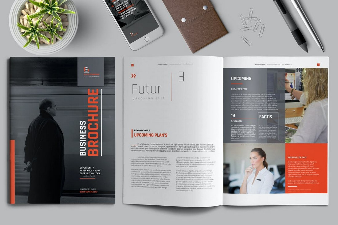 Image-Centric Brochure template