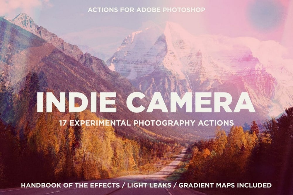 Indie Camera Actions for Photoshop