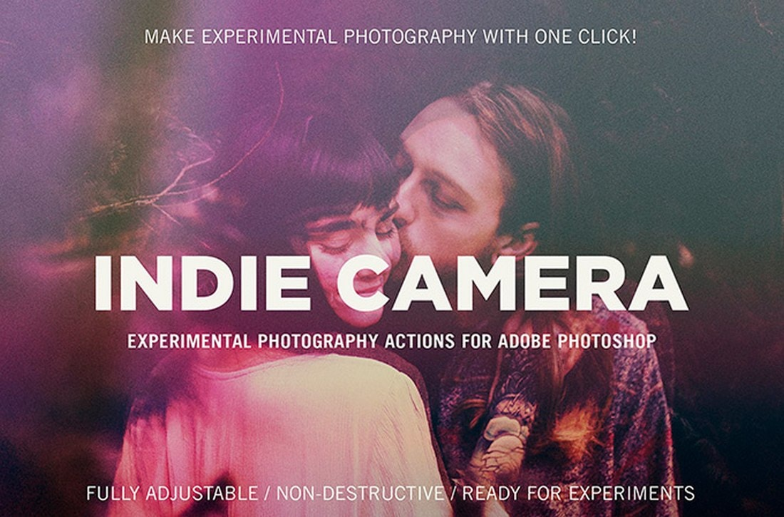Indie Camera - Free Photoshop Actions
