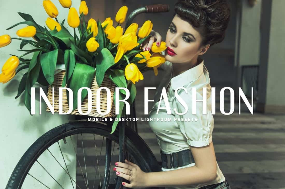 Indoor Fashion - 11 Lightroom Presets