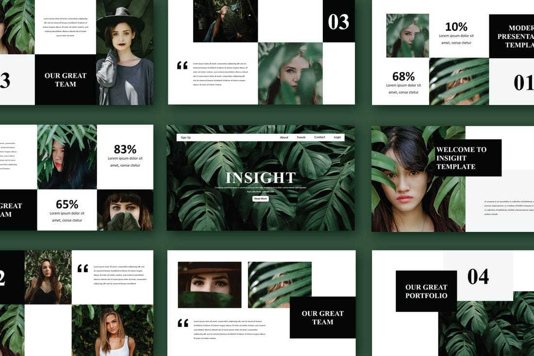 Insight - Free PowerPoint Template