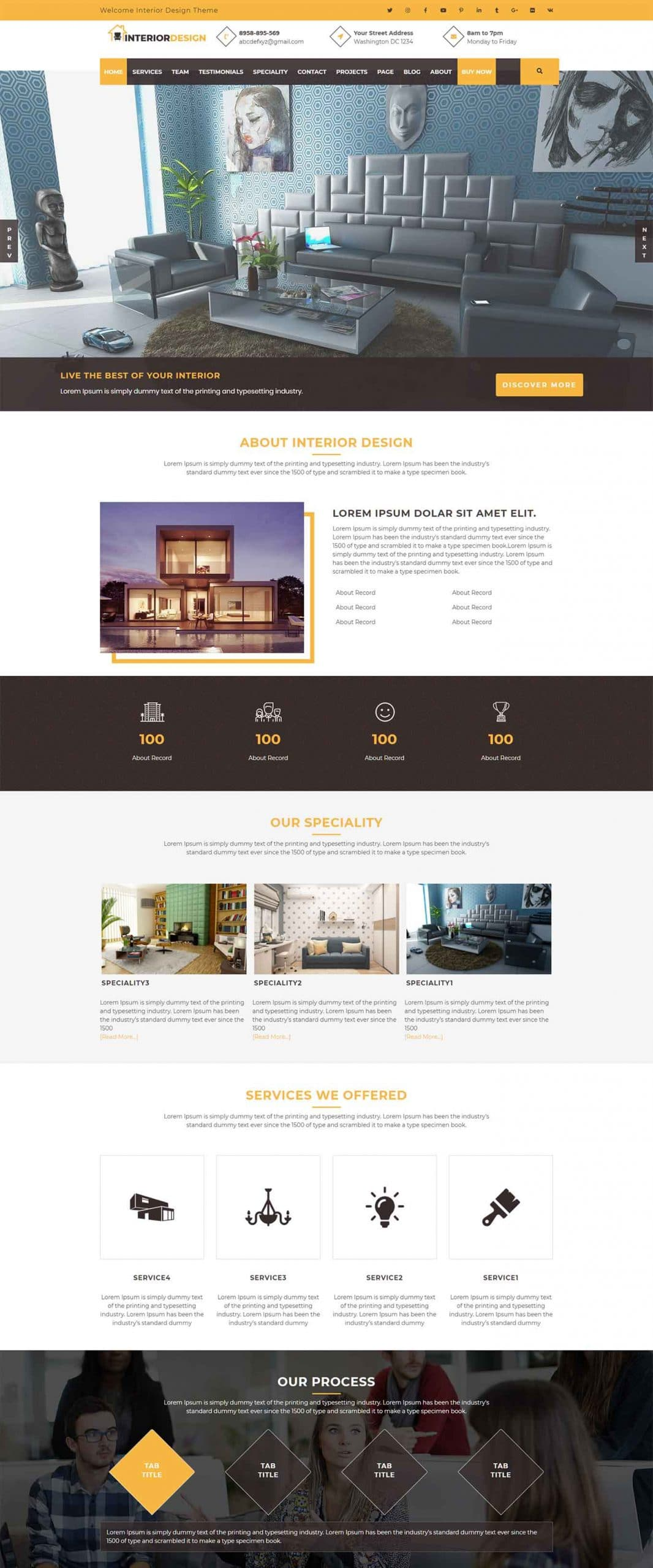 50 Best Interior Design WordPress Themes 2021 Free Premium Theme Junkie