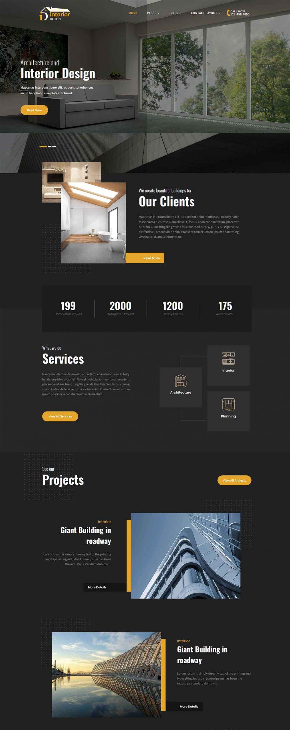 50 Best Interior Design Wordpress Themes 2020 Free Premium Theme Junkie,Craftsman Home Designs