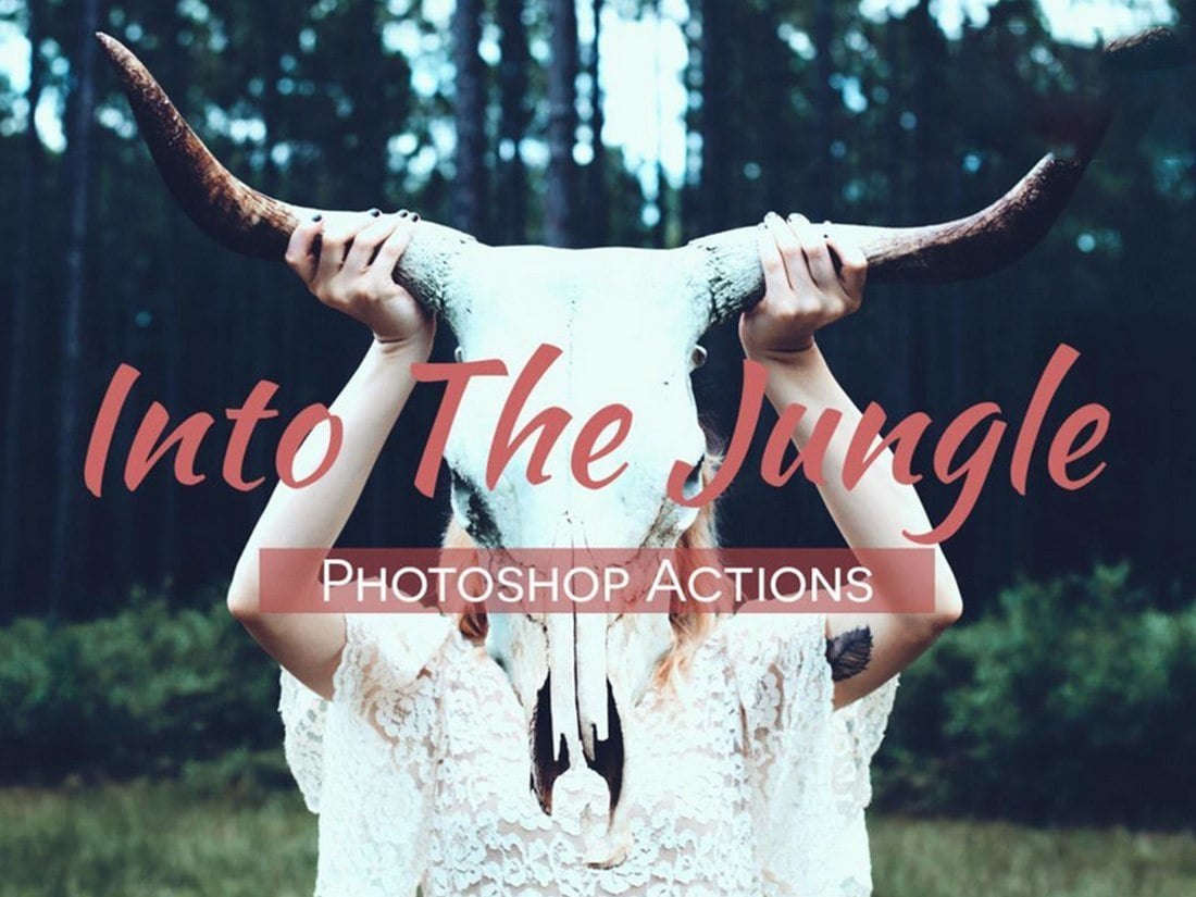 Into The Jungle - Free Photoshop Actions