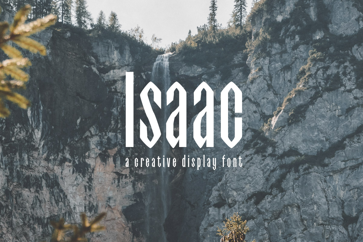 Isaac Display Free Font Family