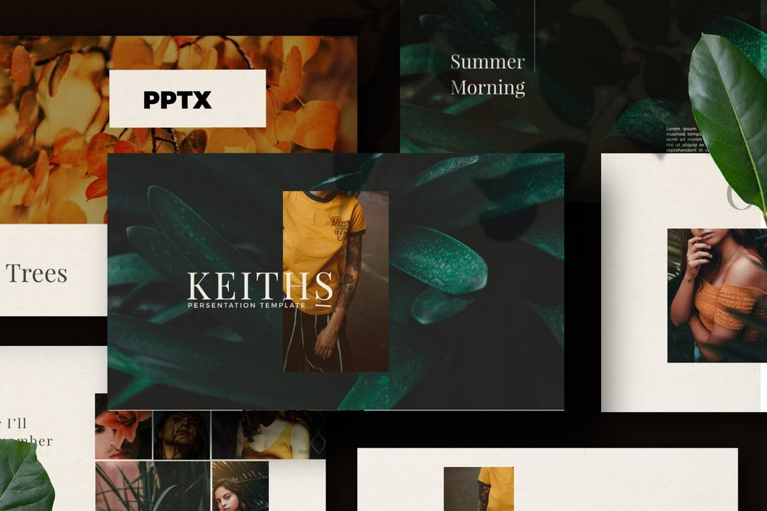 Keiths - Powerpoint Business Template