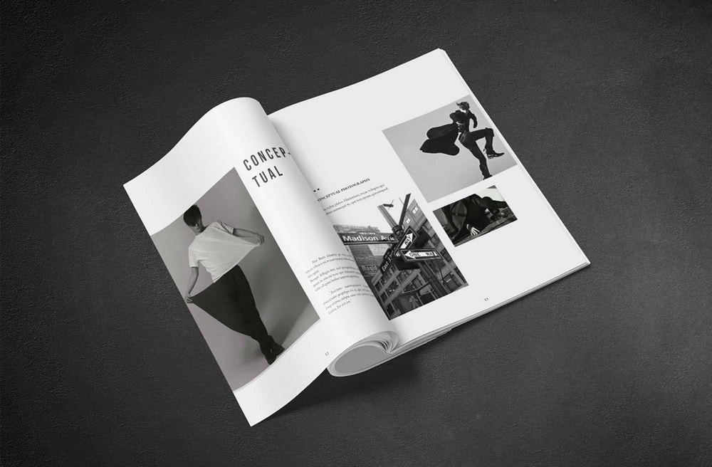 Kinara Free Portfolio Brochure Template