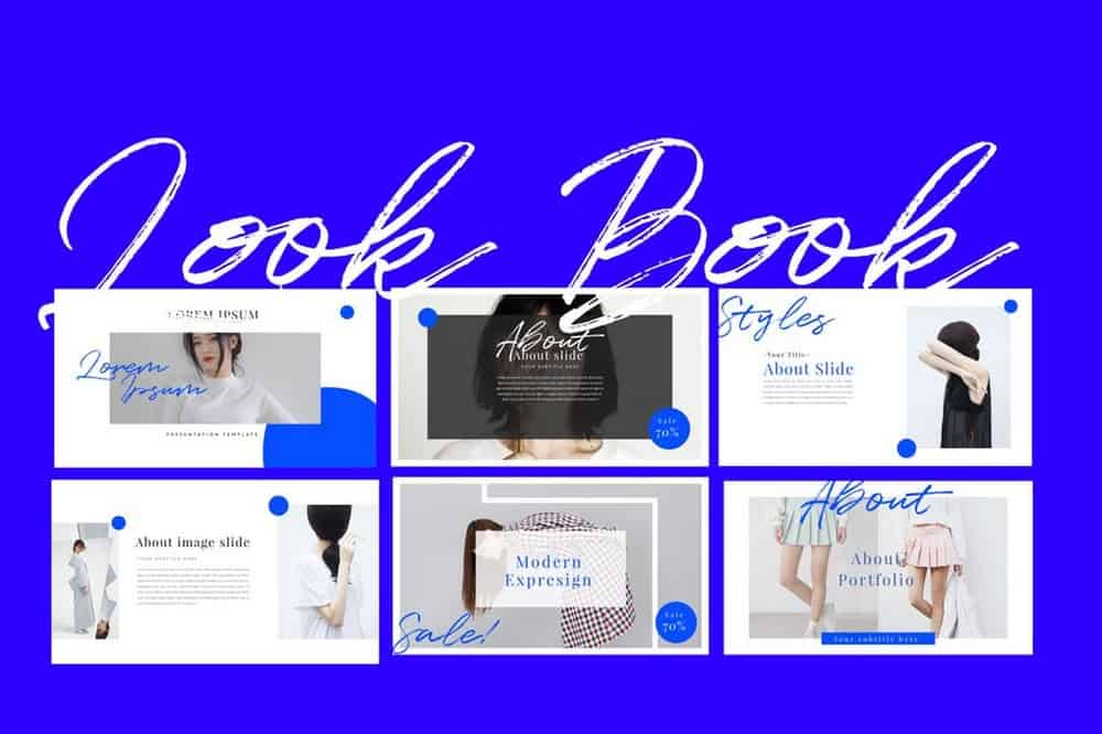 Look Book - Portfolio Keynote Template