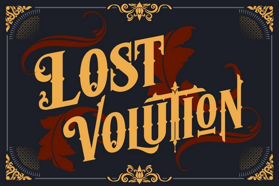 Lost Volution - Font Art Nouveau