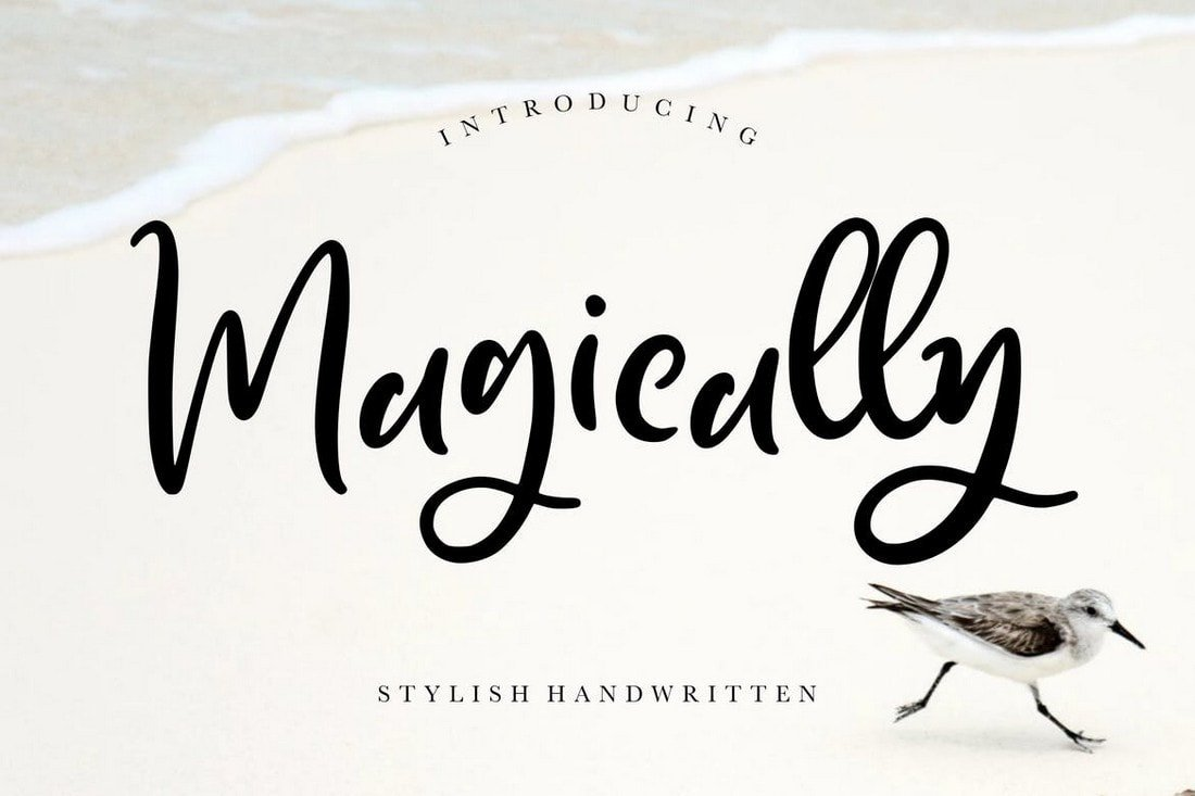 Magically - Stylish Handwritten Font