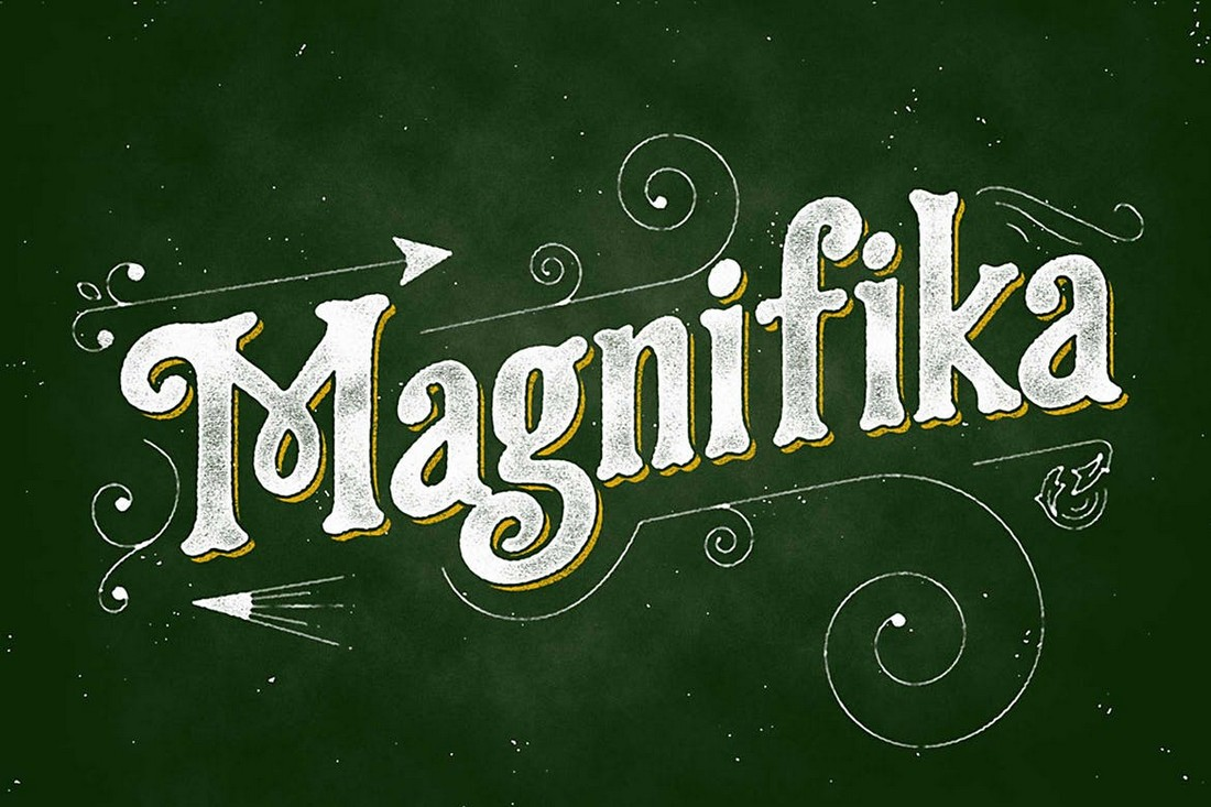 Magnifika - Elegant Vitange Font