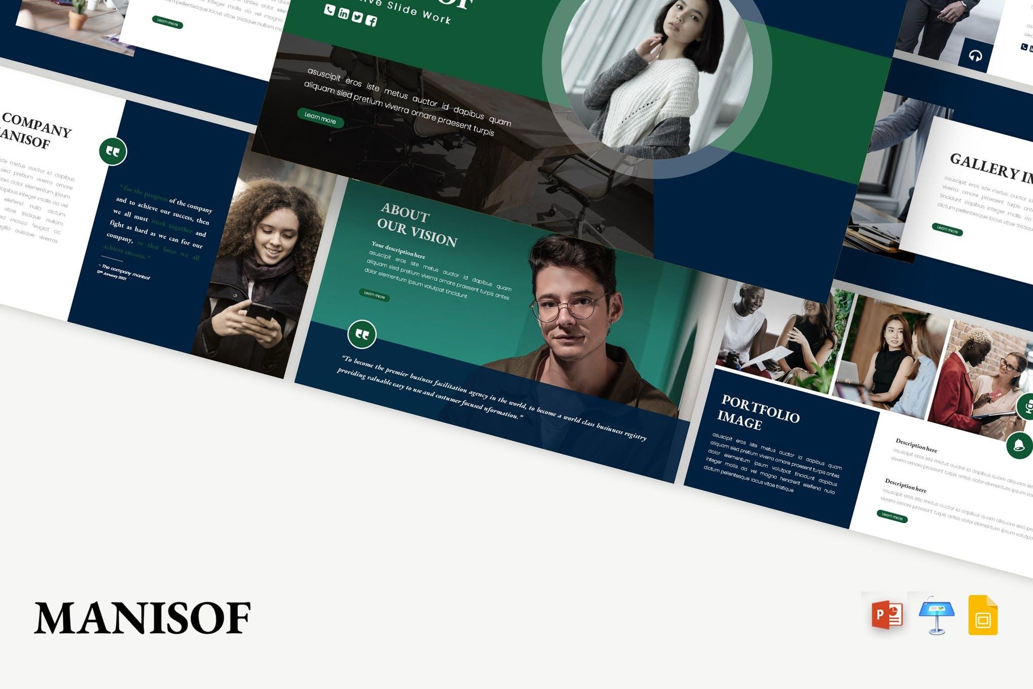 Manisof- Best PowerPoint template