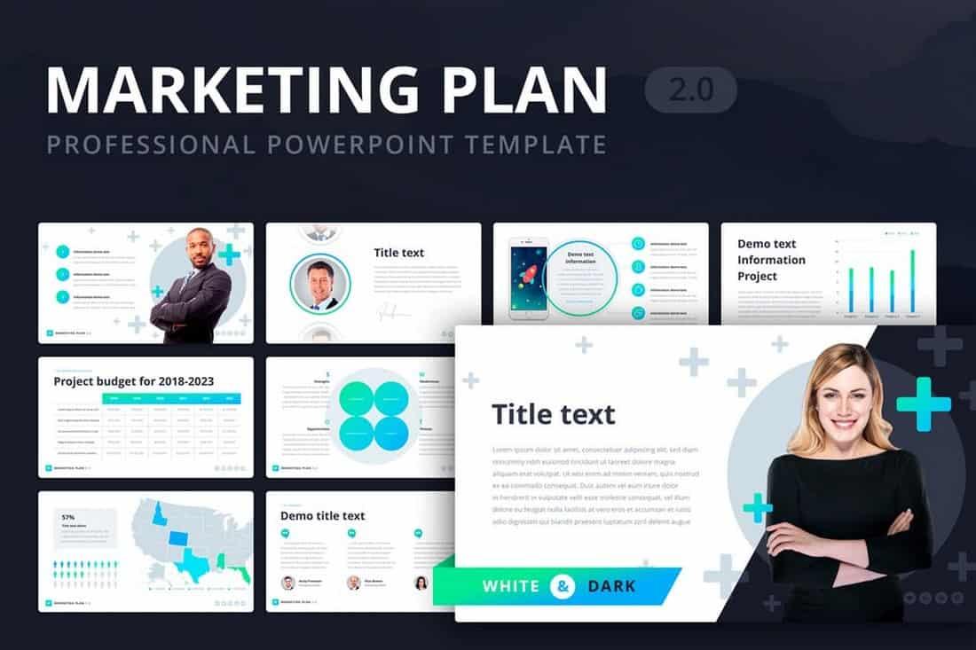 Marketing Plan - Businesss PowerPoint Template