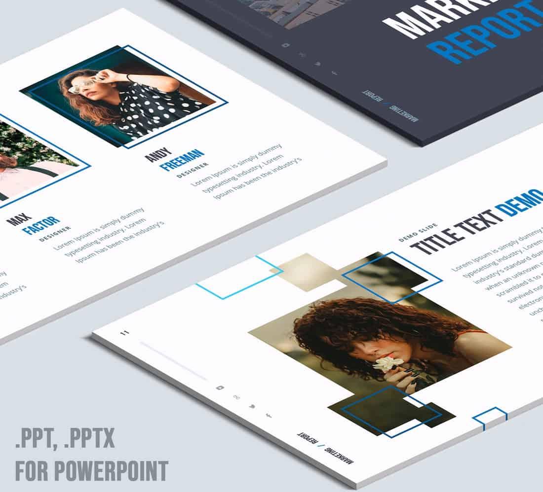 Marketing plan - Free PowerPoint Template