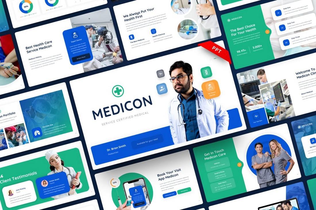 Medicon - Konsultan Medis & Perawatan Kesehatan PPTX