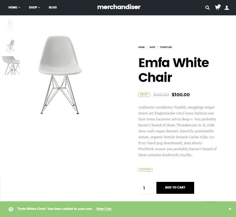 Merchandiser Review Design Product