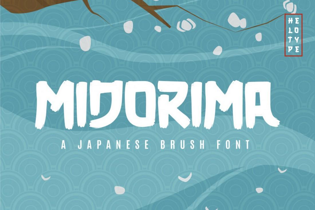 Midorima - Font Jepang Gratis